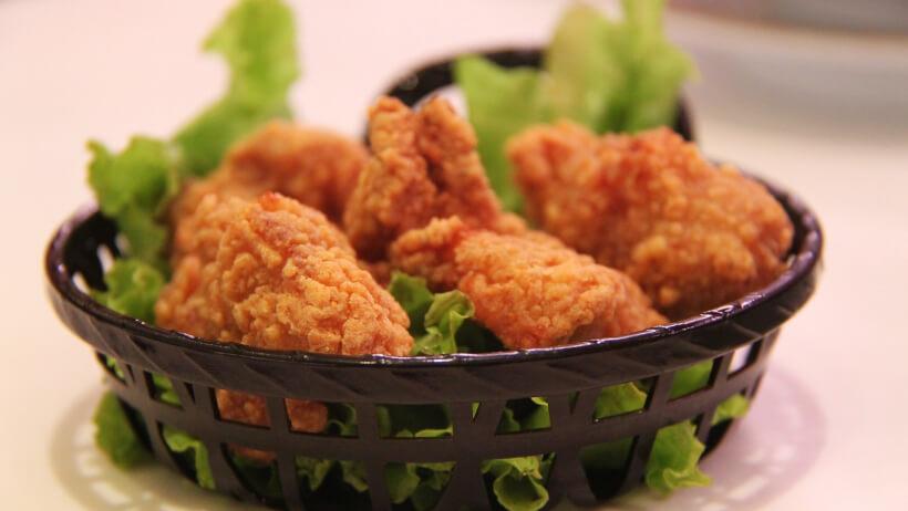 Heißluftfritteuse test Hühnchen
