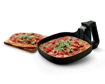 philips fritteuse airfryer backlech pizza zubereiten