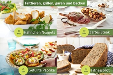Philips Heißluftfritteuse hd9630-90 Rezeptbuch