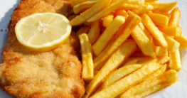 Gericht aus der Friteuse ohne Fett