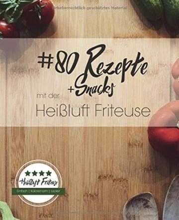 80 Rezepte für dei friteuse ohne fett