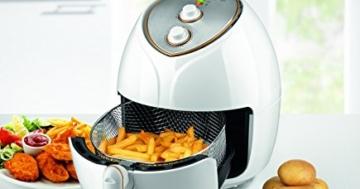 gourmetmaxx heißluft-fritteuse geöffnet