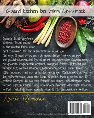 Heißluftfritteuse Rezepte Armin Ramoser Rückansicht