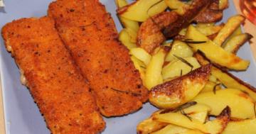 Fischstäbchen frittieren