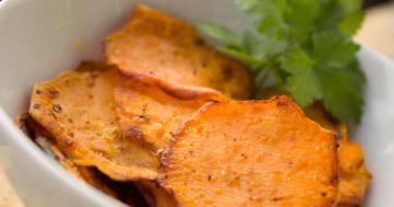 Chips aus der Heißluftfritteuse
