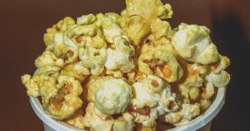 Heißluftfritteusen Popcorn